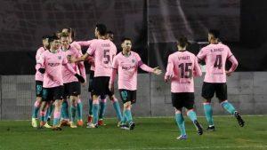 Rayo Vallecano 1-2 FC Barcelona