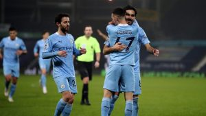 West Bromwich 0-5 Manchester City