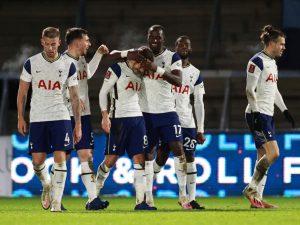 Wycombe Wanderers 1-4 Tottenham Hotspur