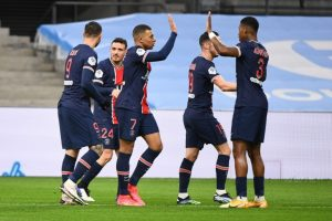 Marseille 0-2 Paris Saint Germain