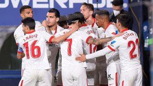 Osasuna 0-2 Sevilla