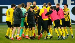 Schalke 0-4 Borussia Dortmund