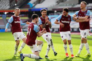 West Ham United 2-1 Tottenham Hotspur