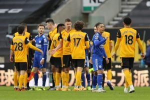 Wolves 0-0 Leicester City