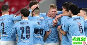 Manchester City 2-0 Borussia Monchengladbach