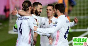Real Madrid 3-1 Atalanta