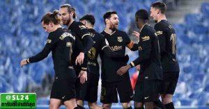 Real Sociedad 1-6 FC Barcelona