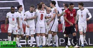 Albania 0-2 England