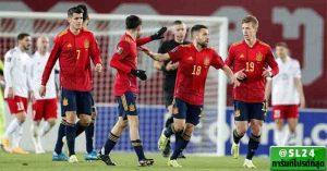 Georgia 1-2 Spain