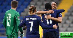 Kazakhstan 0-2 France
