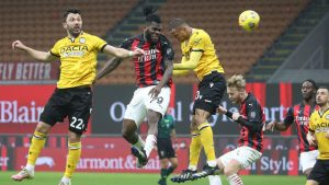 AC Milan 1-1 Udinese