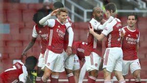 Arsenal 2-1 Tottenham Hotspur