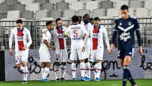 Bordeaux 0-1 Paris Saint Germain