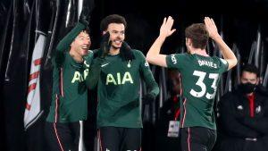 Fulham 0-1 Tottenham Hotspur