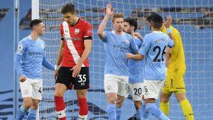 Manchester City 5-2 Southampton