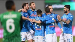 Sassuolo 3-3 Napoli