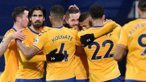 West Bromwich 0-1 Everton