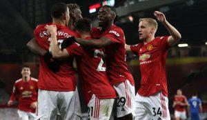 Manchester United 2-1 Brighton Hove Albion