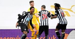 Newcastle United 2-2 Tottenham Hotspur