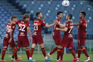 AS Roma 5-0 Crotone