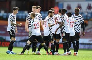 Aston Villa 1-3 Manchester United