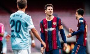 Barcelona 1-2 Celta Vigo