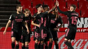Granada CF 1-4 Real Madrid