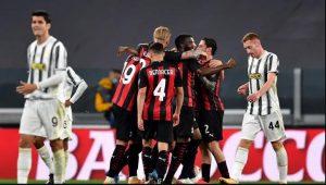 Juventus 0-3 AC Milan