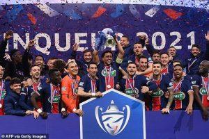 Monaco 0-2 Paris Saint Germain