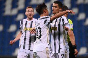 Sassuolo 1-3 Juventus