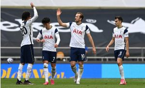 Tottenham Hotspur 2 -0 Wolverhampton