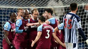 West Bromwich 1-3 West Ham United