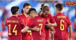 Spain 4-0 Lithuania