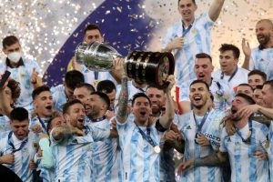 Argentina 1-0 Brazil