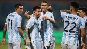 Argentina 3-0 Ecuador