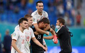 Switzerland 1-1(1-3) Spain