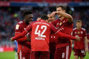 Bayern Munchen 5-0 Hertha Berlin