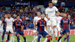 Levante 3-3 Real Madrid