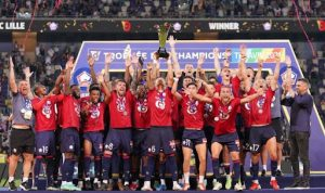 Lille 1-0 Paris Saint Germain