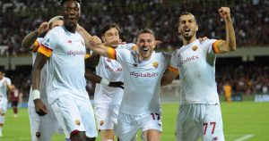 Salernitana 0-4 AS Roma