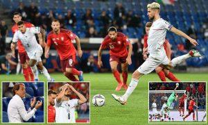 สวิตเซอร์แลนด์ 0-0 อิตาลี