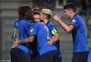 อิตาลี 5-0 ลิธัวเนีย