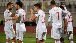 Kosovo 0-2 Spain