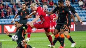 Norway 1-1 Netherlands