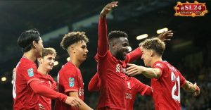 Norwich City 0-3 Liverpool