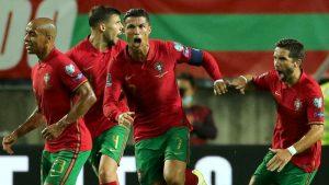 Portugal 2-1 Republic of Ireland