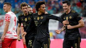 RB Leipzig 1-4 Bayern Munchen