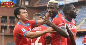 Sampdoria 0-4 Napoli