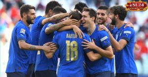 Italy 2-1 Belgium