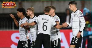 North Macedonia 0-4 Germany